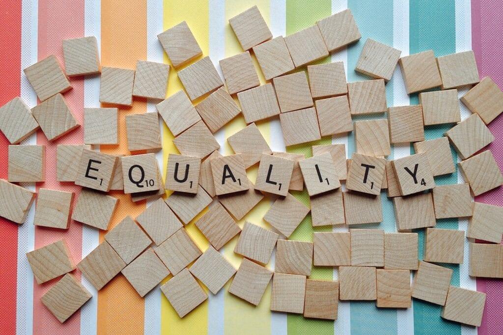 Ordet equality.